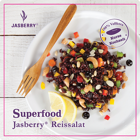 Superfood Jasberry Reis-Salat